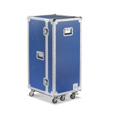 Trunk/Flight-case with 5 wheels
