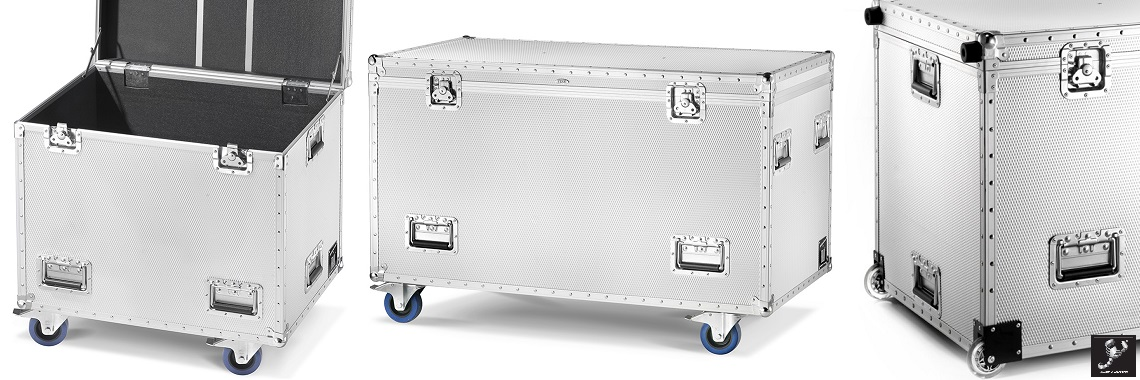 Trunks for heavy and bulky transport
