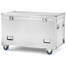 Aluminium Flight-Case/Trunk with 4 wheels