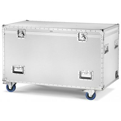 Aluminium Flight-Case/Trunk with 4 wheels