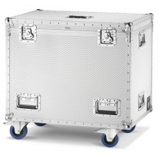 Aluminium Flight-Case/Trunk with 4 wheels Line Grinta