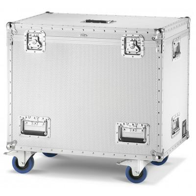 Aluminium Flight-Case/Trunk with 4 wheels Line Grinta