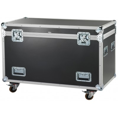 Trunk/Flight-case with 4 wheels